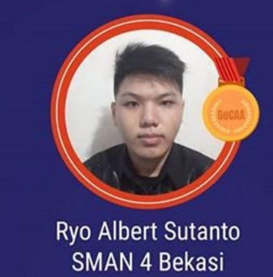 selamat buat Ryo Albert Sutanto