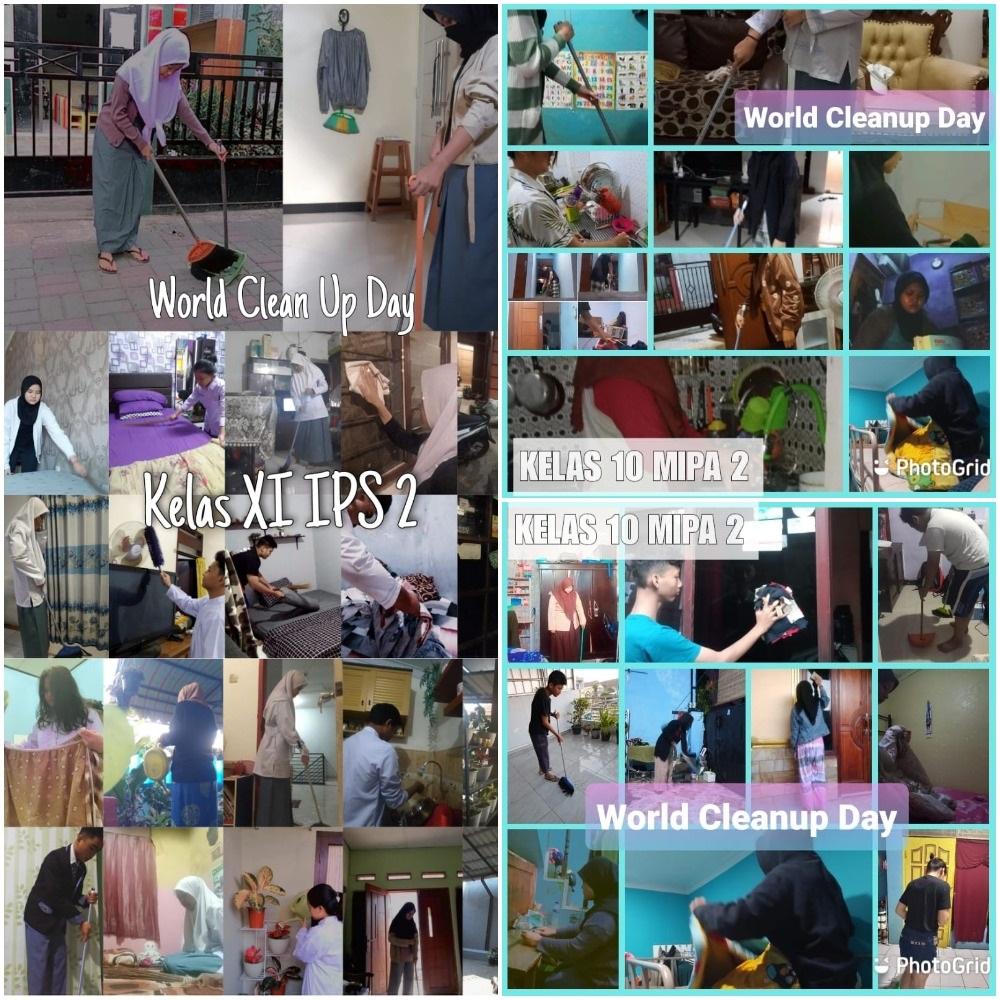 Kegiatan World Cleanup Day (WCD)