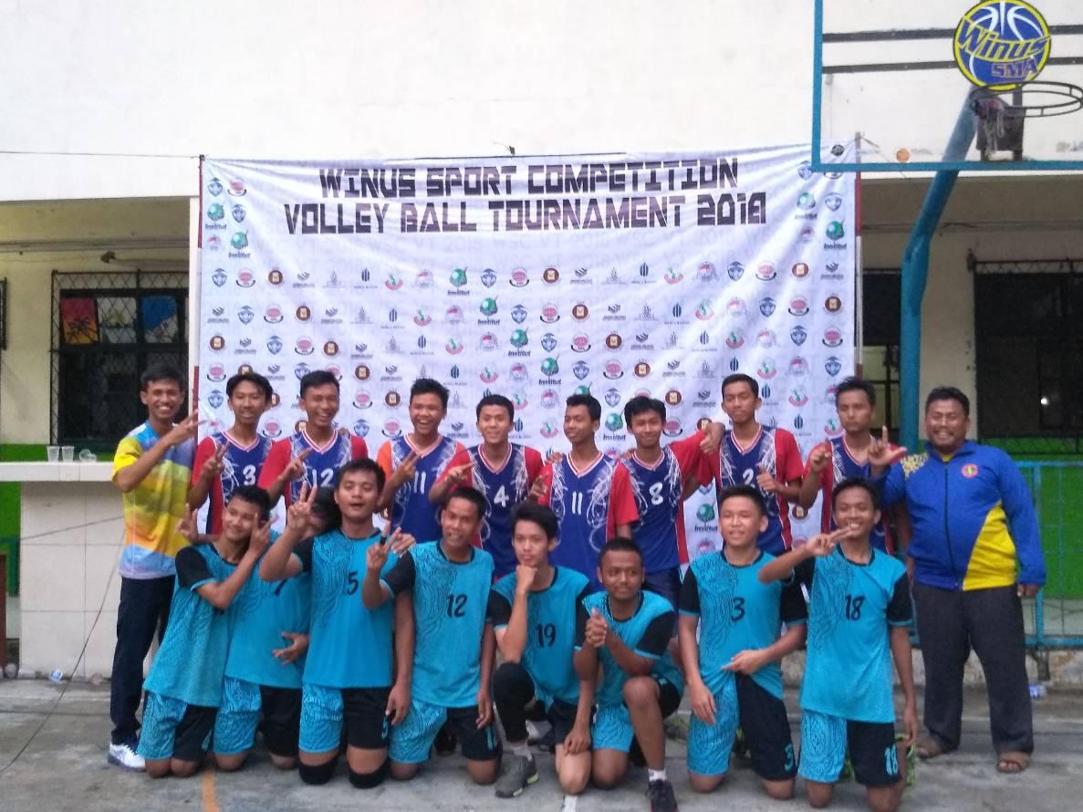 Juara II Turnament Winus Sport Competition 2018