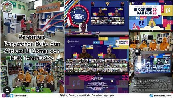 Testimoni Aktivasi BI Corner di Perpustakaan SMA Negeri 4 Bekasi