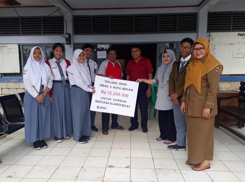 Penyaluran Bantuan Korban Tsunami