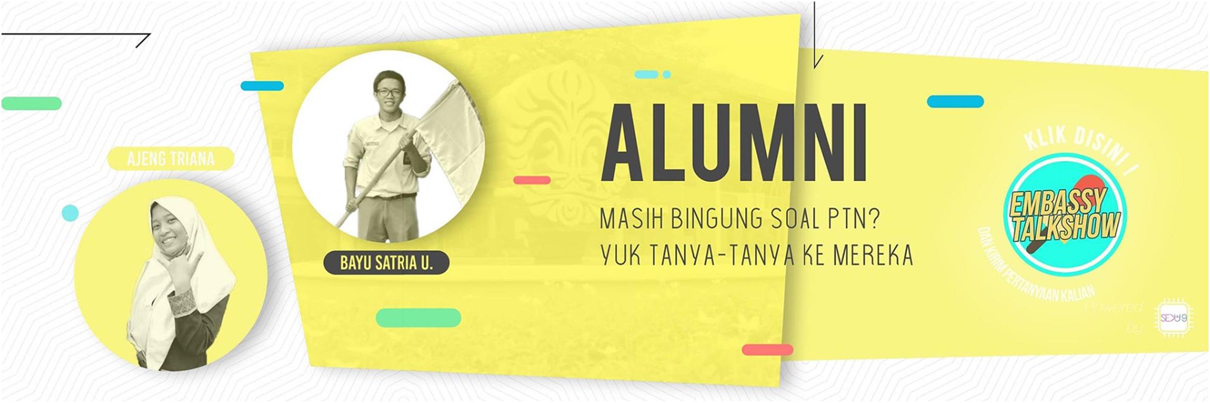 Embassy Talkshow dari Alumni SMAN 4 Bekasi