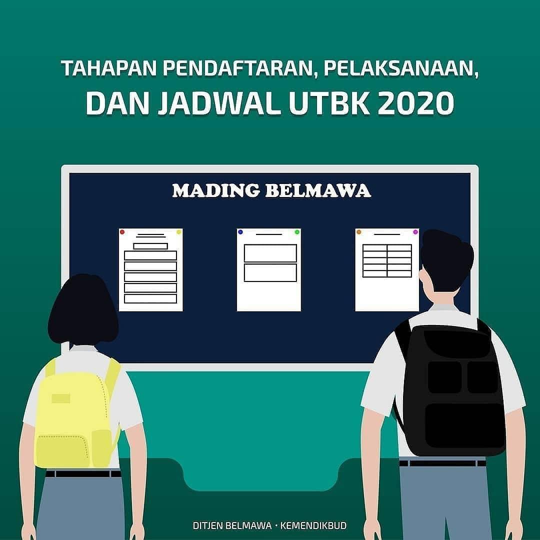 Tahapan Pendaftaran dan Pelaksanaan Ujian Tulis Berbasis Komputer (UTBK)
